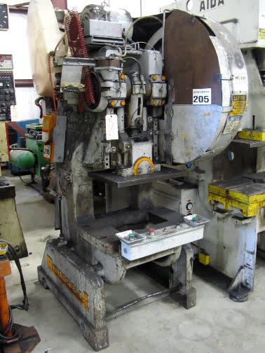 60 ton press used u2022 rousselle 6 press for sale rh almamachinery com 10 Ton Obi Press 10 Ton Obi Press