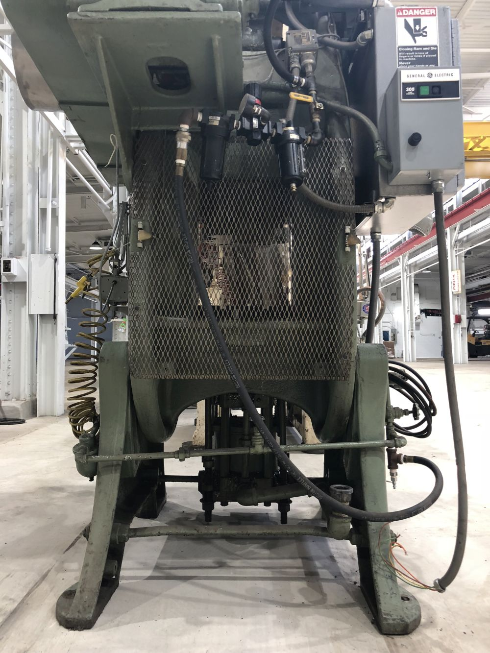 50 Ton Federal Used Press • 50 Ton OBI Flywheel Type Press