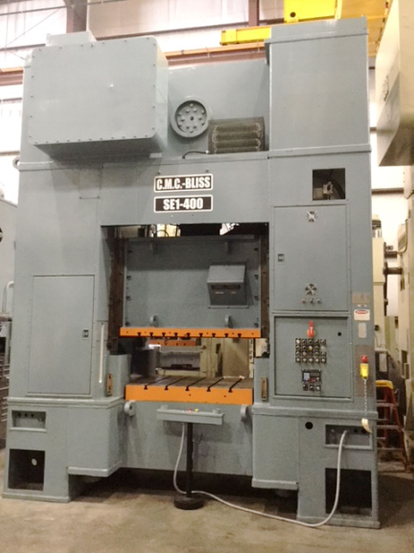 400 Ton CMC / Bliss Press • 60