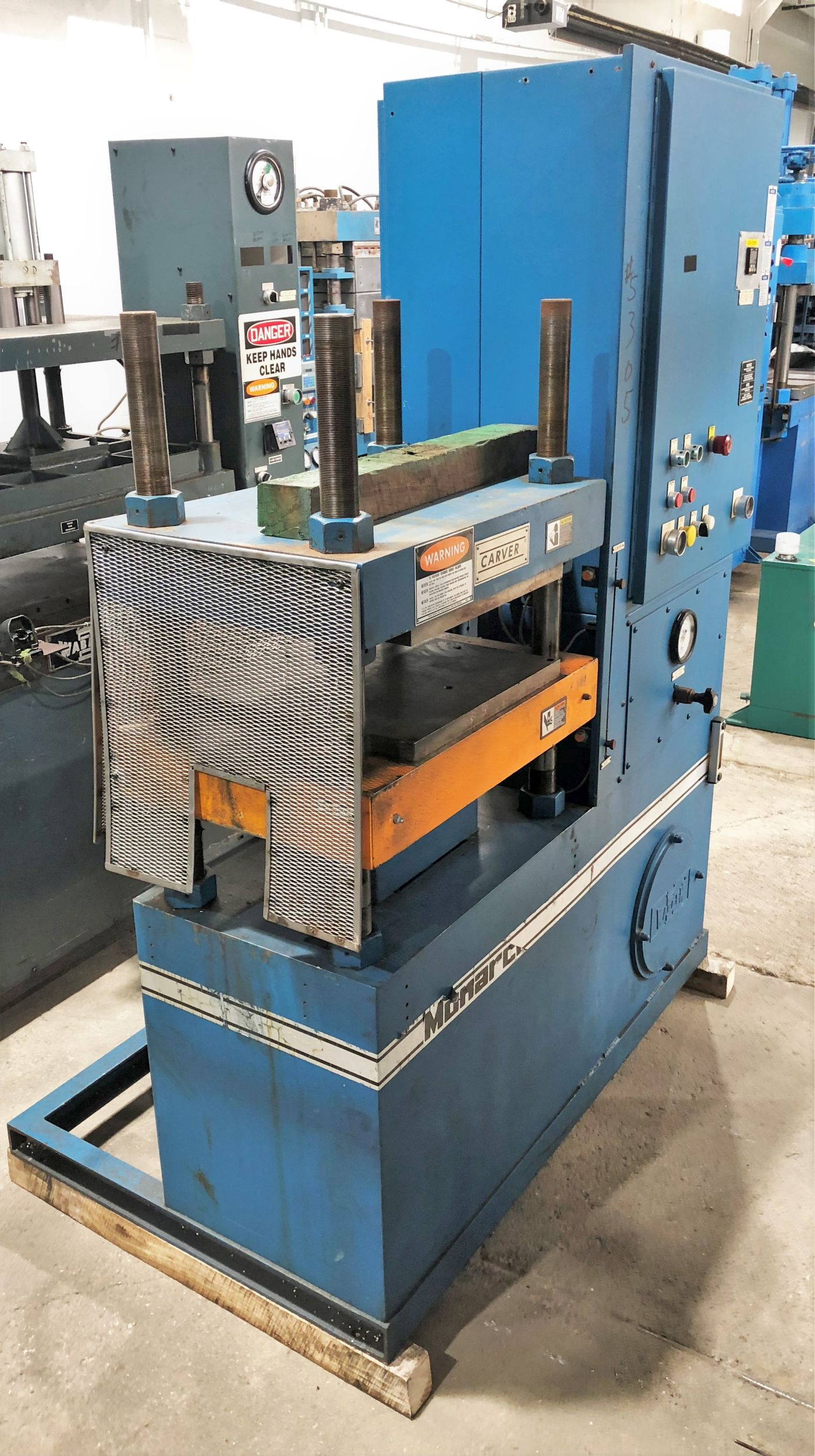 50 Ton Carver Press • 28