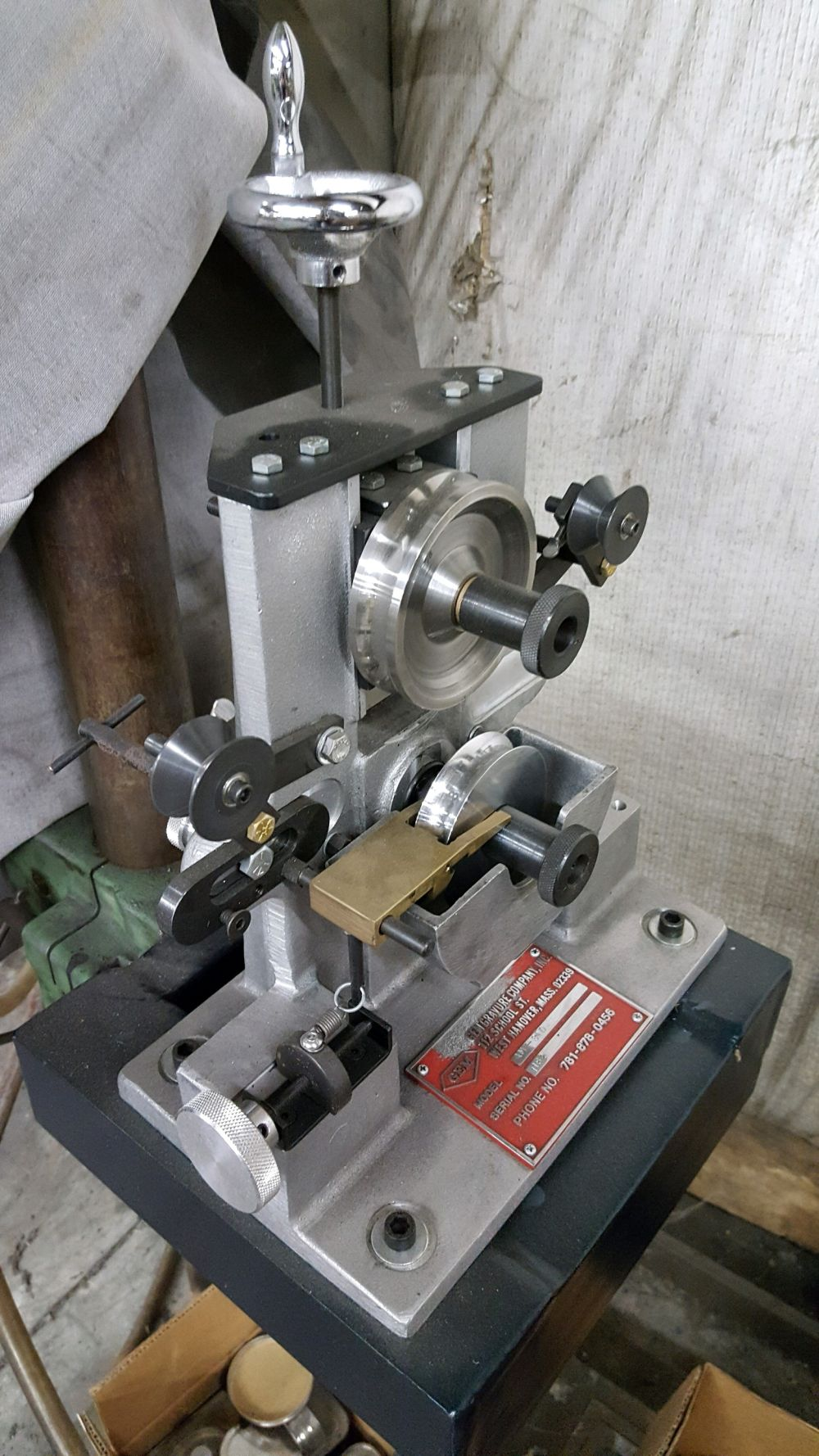 Used Gem Gravure Company AM-STD Marker with Stand Ink Type • Gem ...